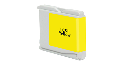 Brother LC51Y ---YELLOW (Item#475)... (INK REFILL)